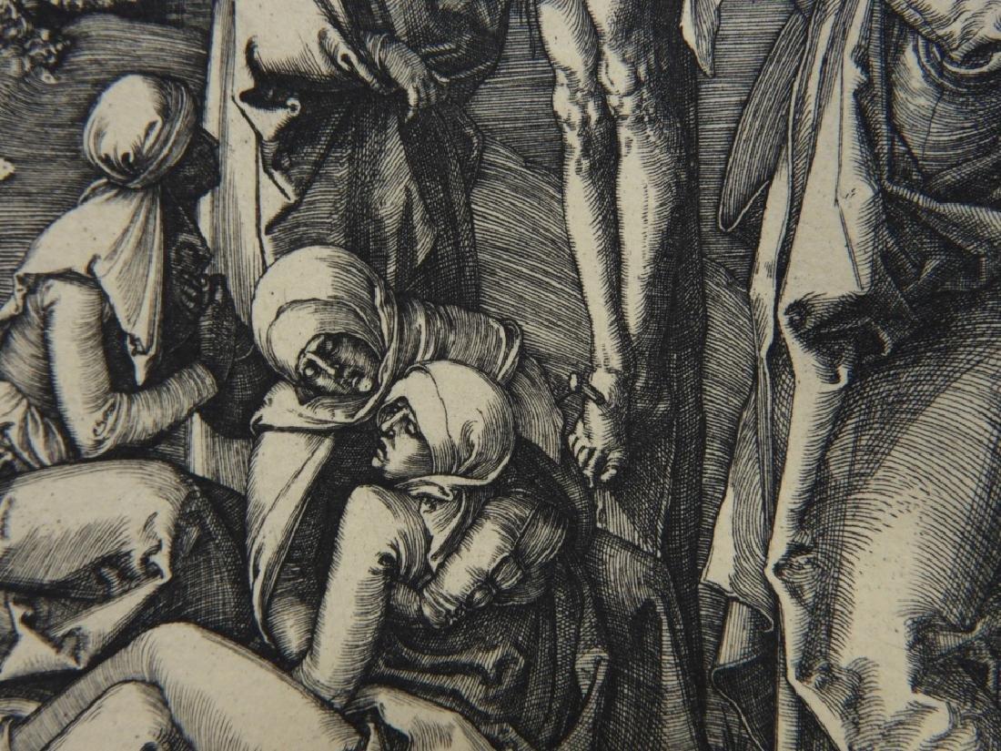 Albrecht Durer Crucifixion Engraving - 5