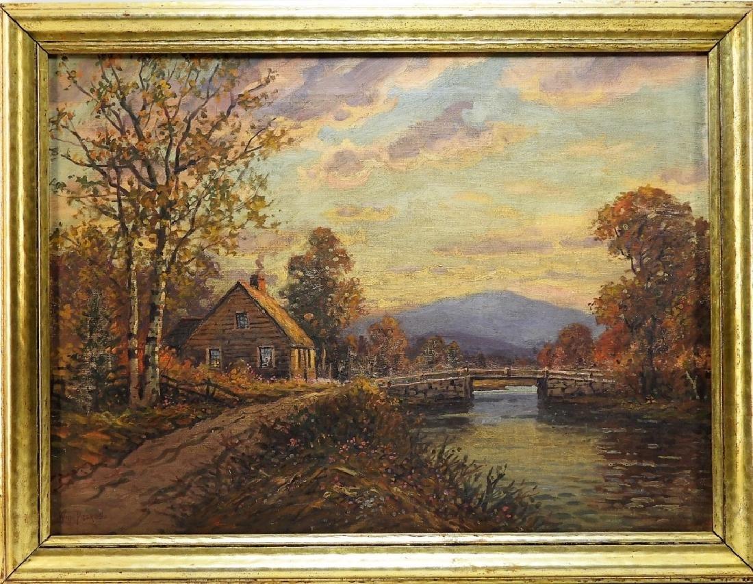 William Paskell Illuminated Mt. Chocura Landscape