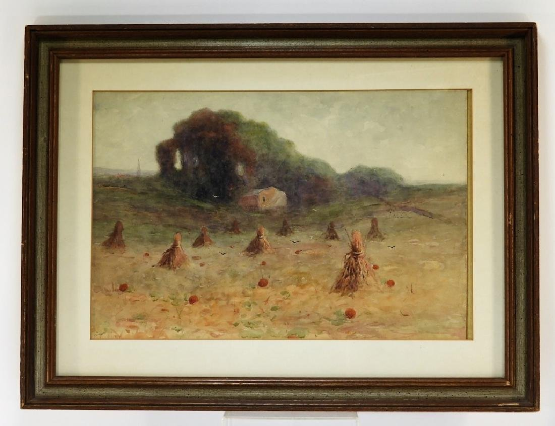 Charles Parmelee Rising Farmer's Meadow Painting - 2