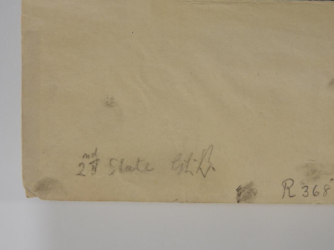 Gerald Brockhurst Titled Ranunculus Etching - 5