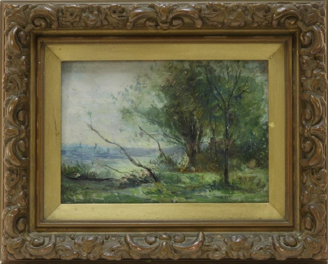 19C. French Impressionist Corot School Painting