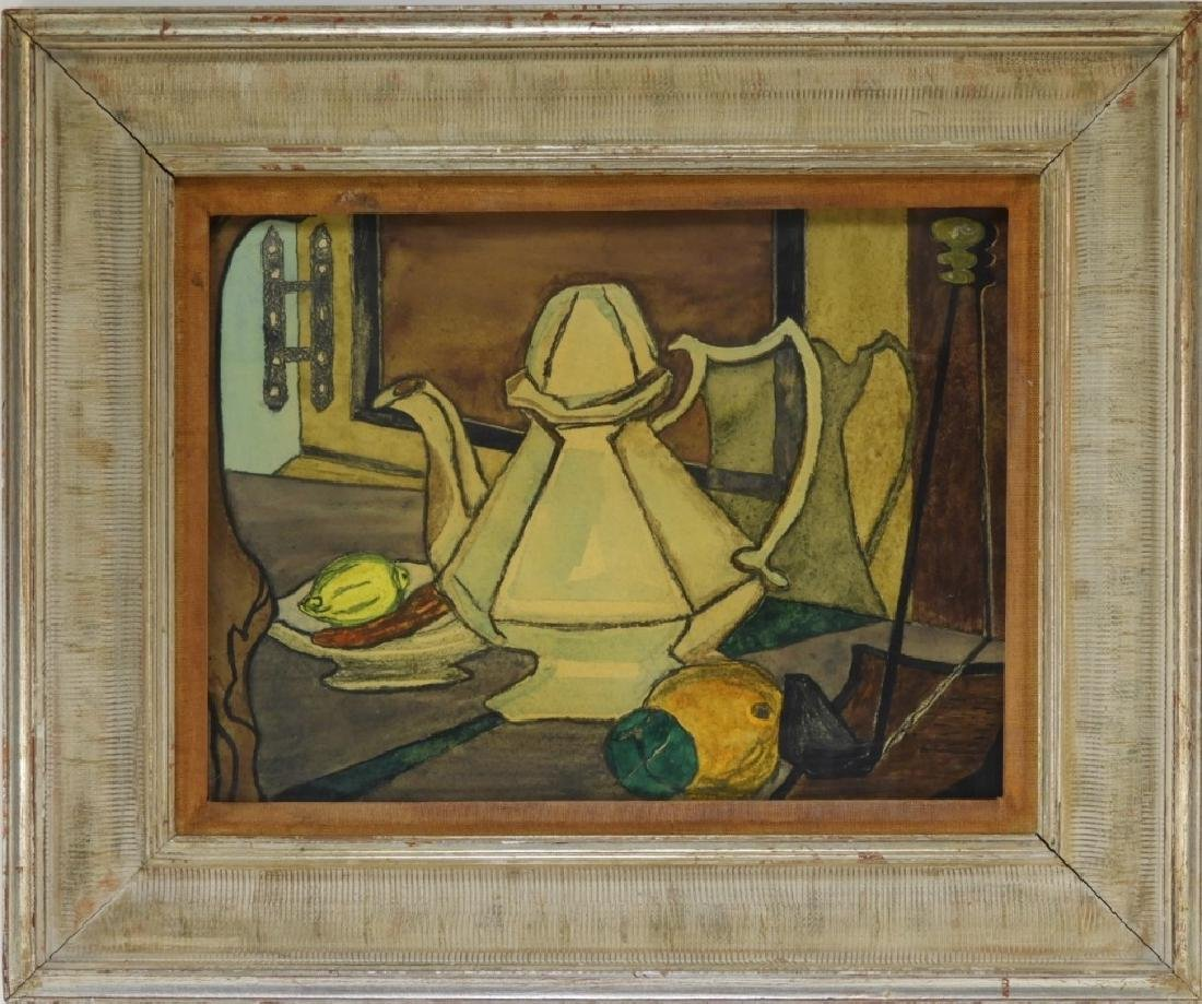 Aft. Georges Braque Still Life Teapot Painting