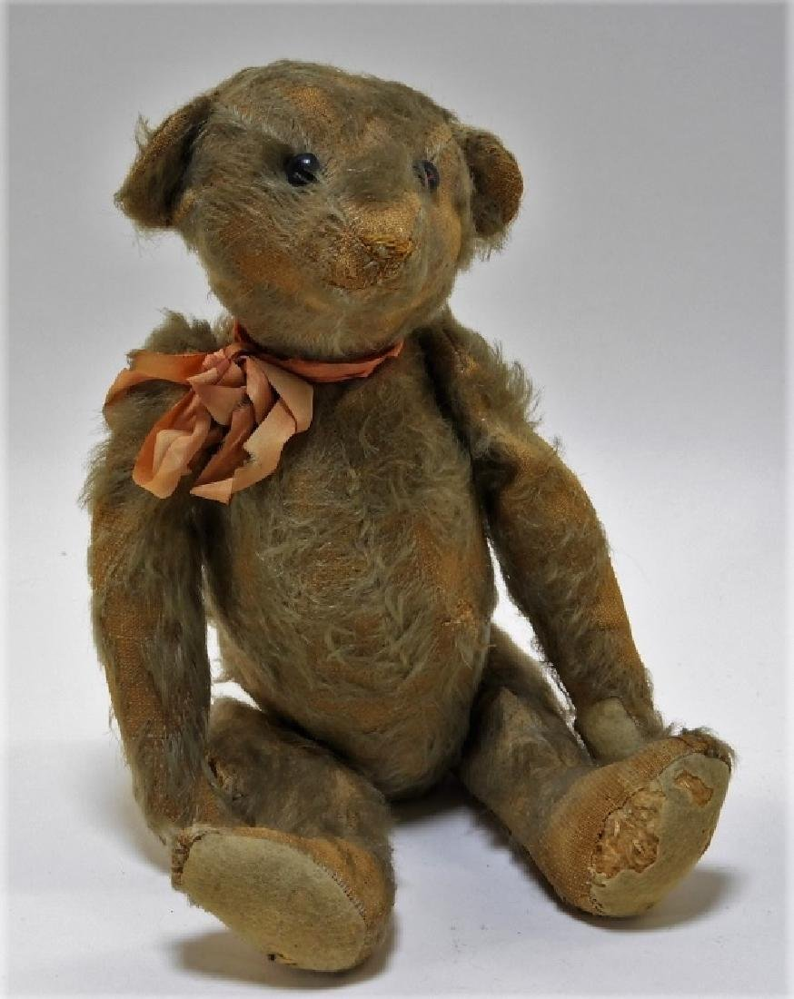 Early Antique Steiff Hump Back Jointed Teddy Bear