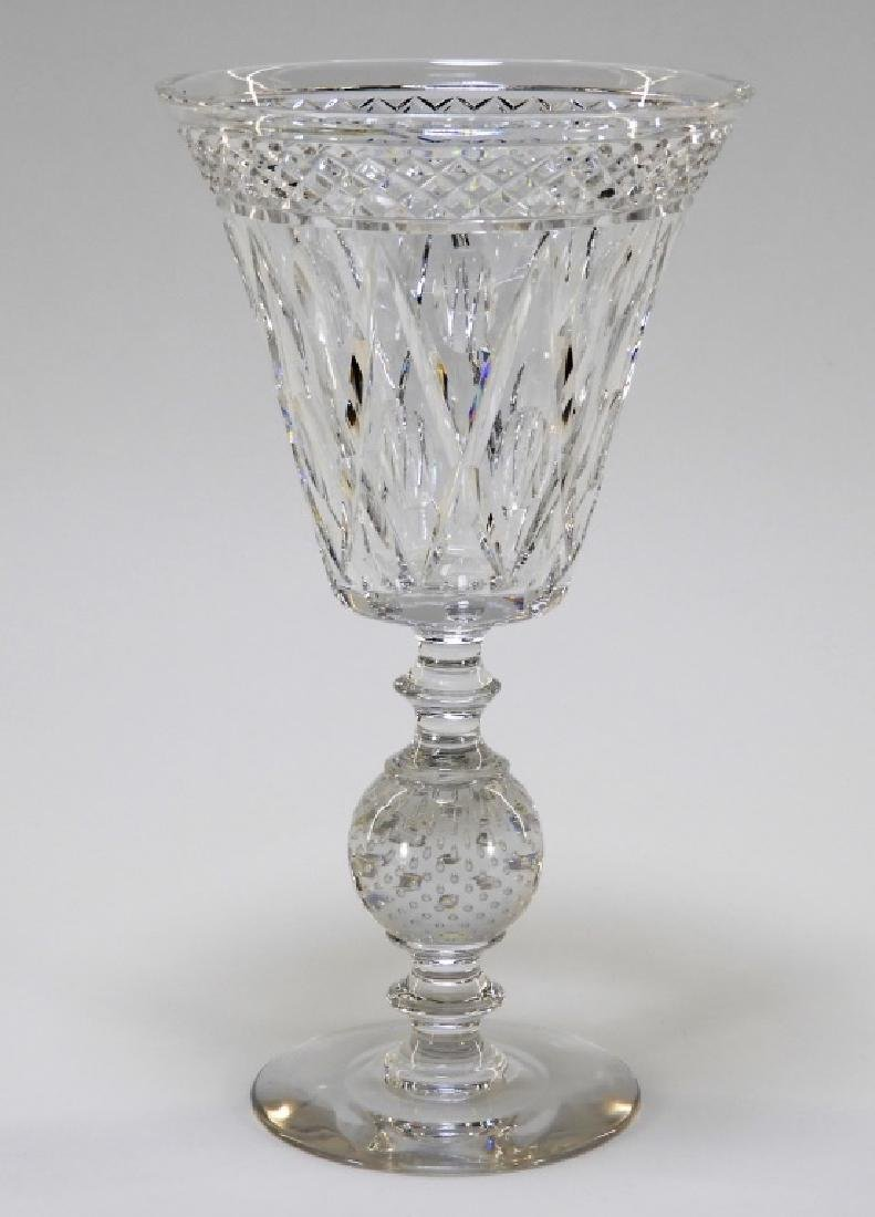 Pairpoint Adelaide Pattern Cut Glass Chalice Vase