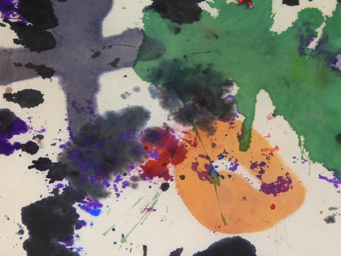 Taro Yamamoto Abstract Expressionist WC Painting - 3