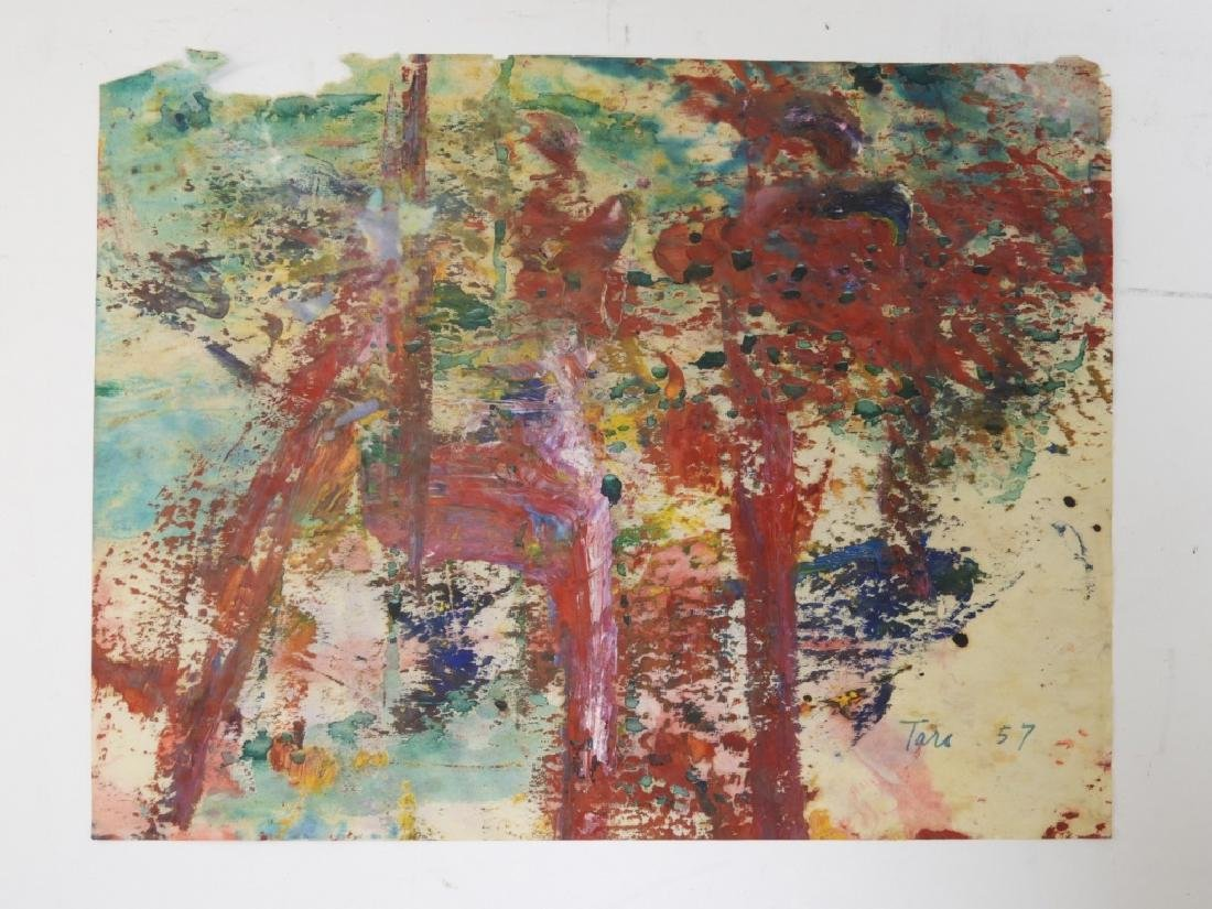 6 Taro Yamamoto Abstract Expressionist WC Painting - 2