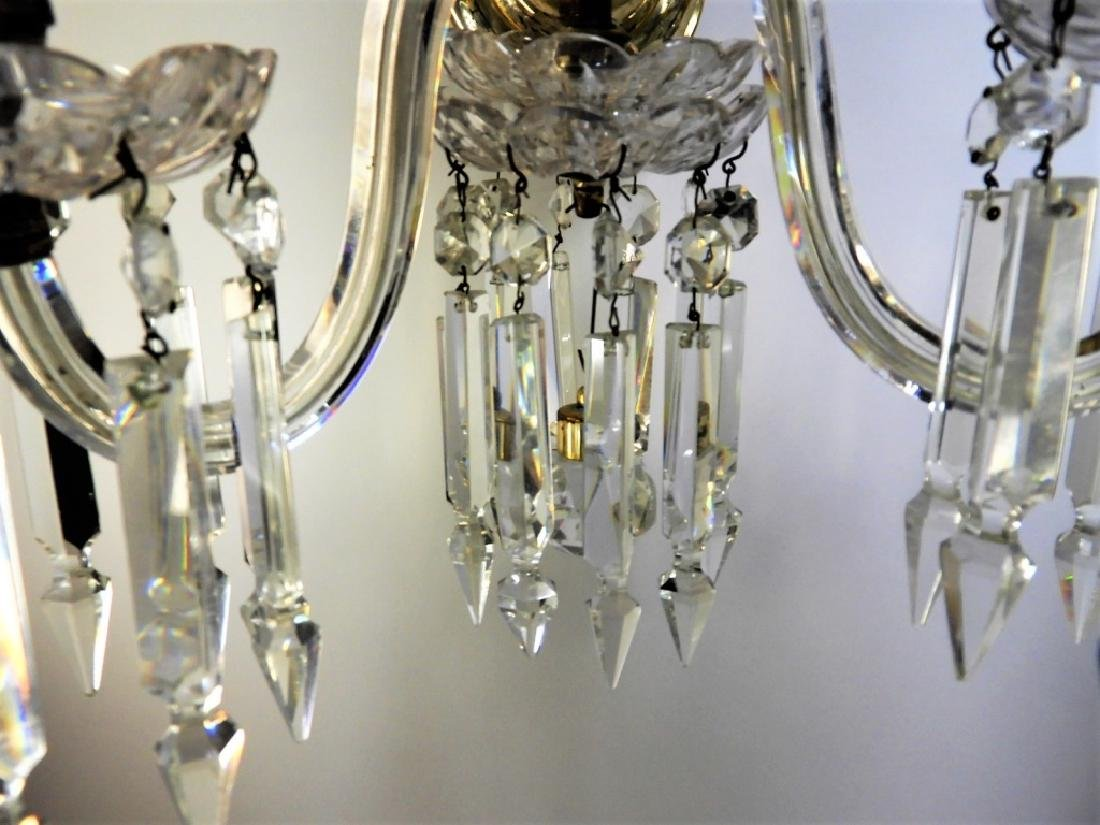 PR Beautiful Brass & Crystal Sconce Lights - 6