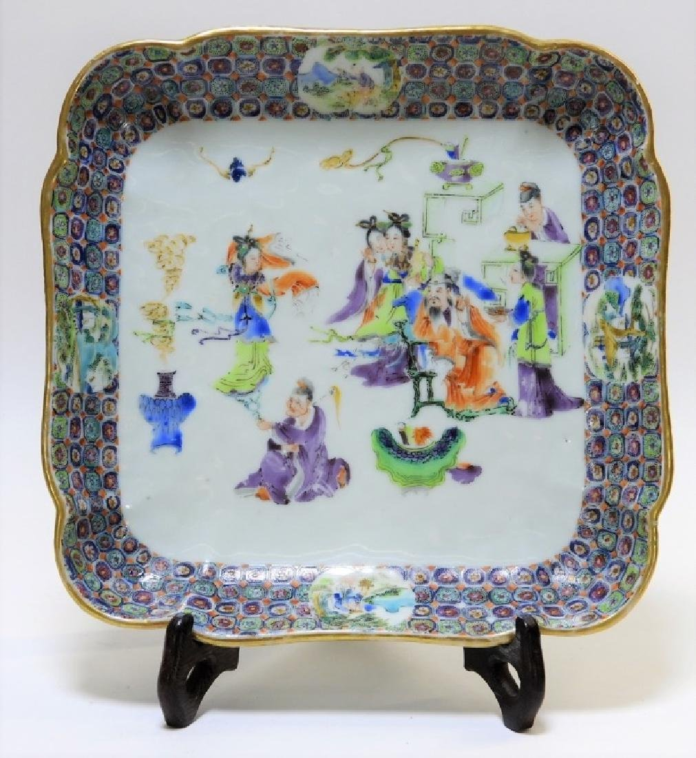 19C. Chinese Export Famille Rose Porcelain Bowl