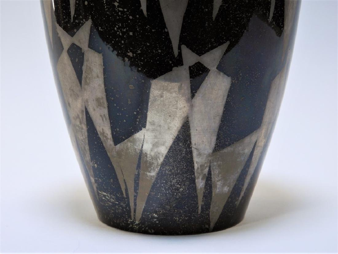 French Art Deco Dunand Style Lacquered Vase - 4