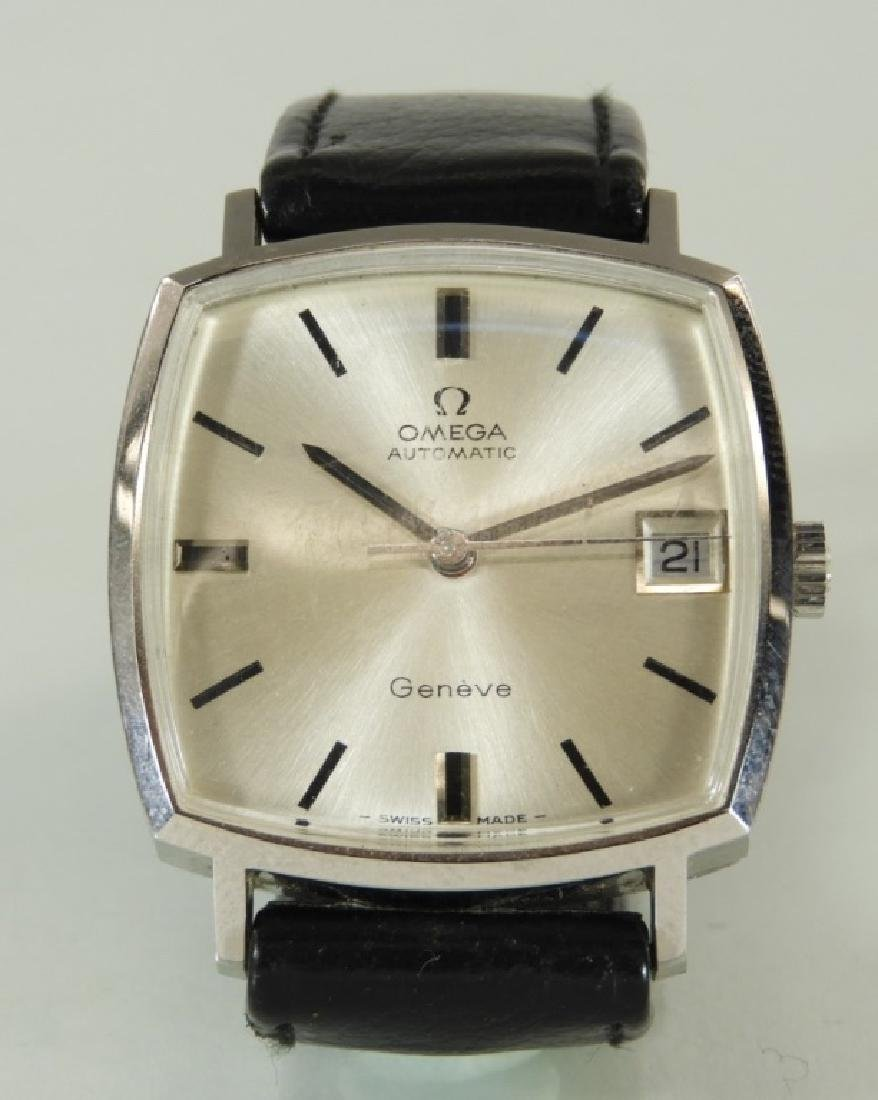 Omega Geneve Automatic Date Men Wrist Watch