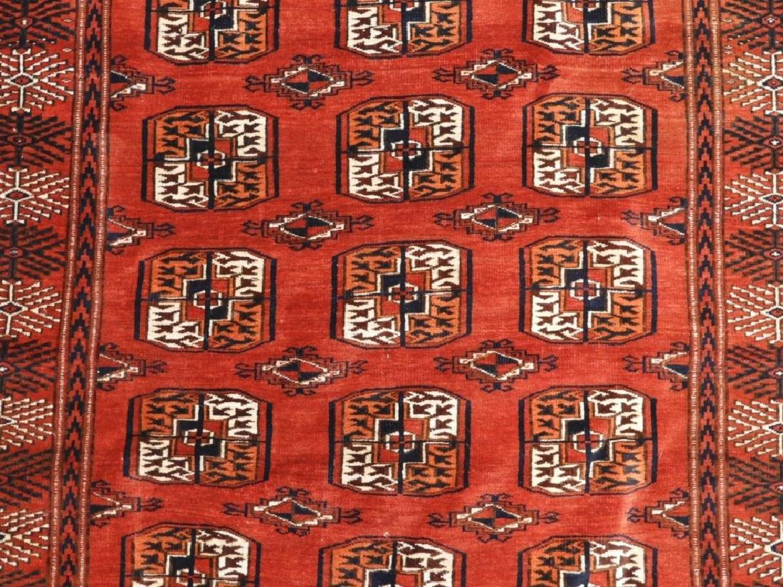 Oriental Bokhara Wool Carpet Rug - 2