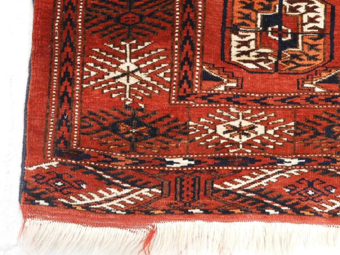Oriental Bokhara Wool Carpet Rug - 3