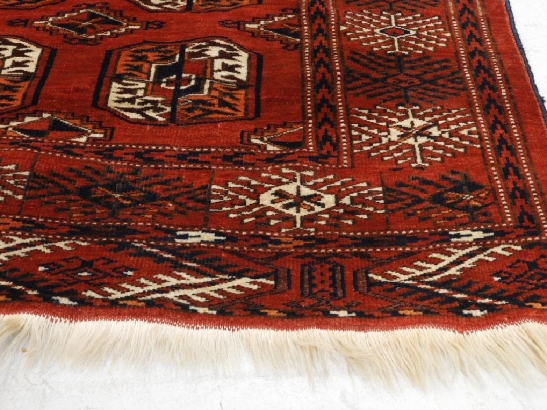 Oriental Bokhara Wool Carpet Rug - 4