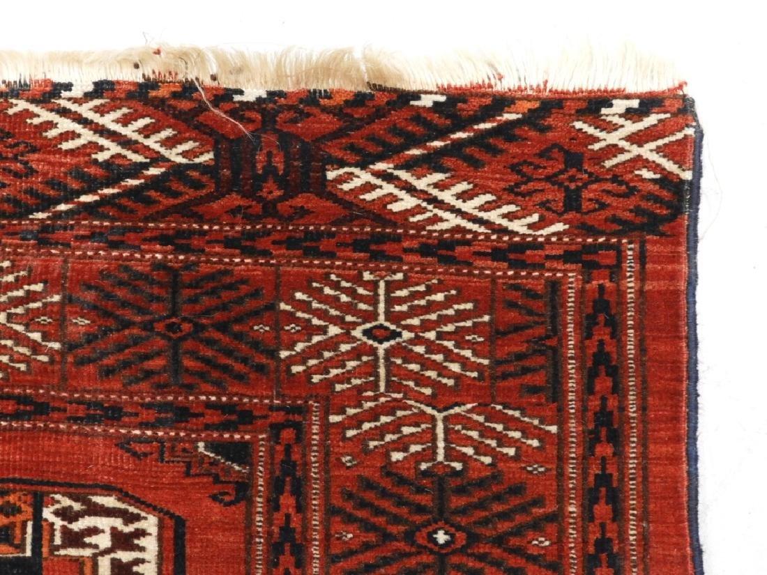 Oriental Bokhara Wool Carpet Rug - 5