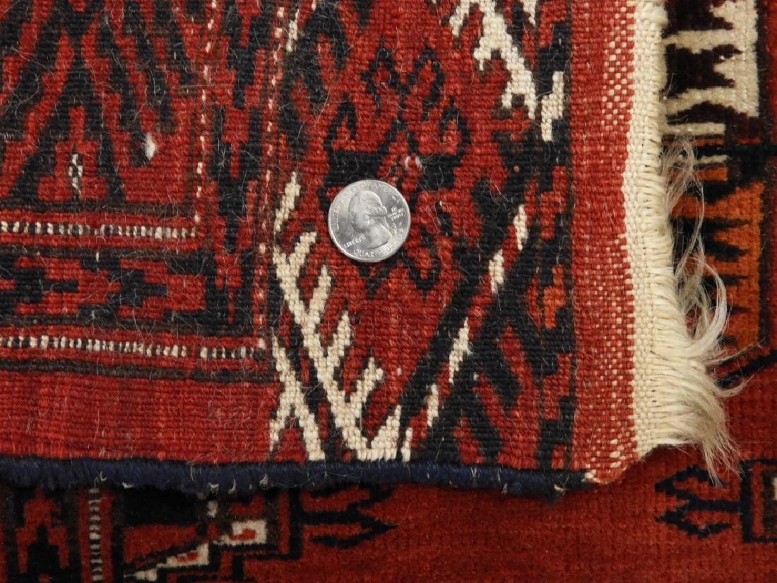 Oriental Bokhara Wool Carpet Rug - 7