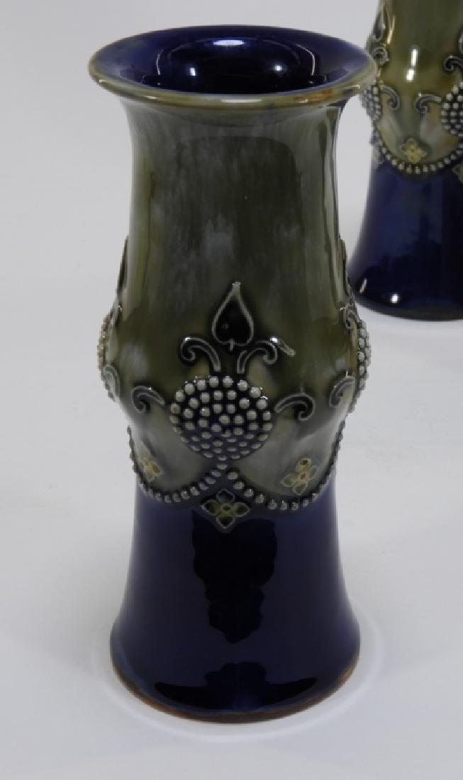 2PR Royal Doulton Chineware & Lambeth Vases - 3