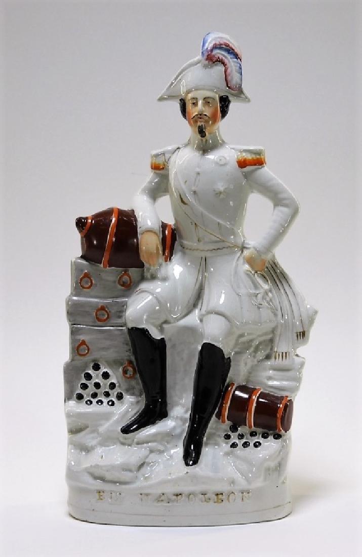 19C. Staffordshire Pearlware Figure of Napoleon