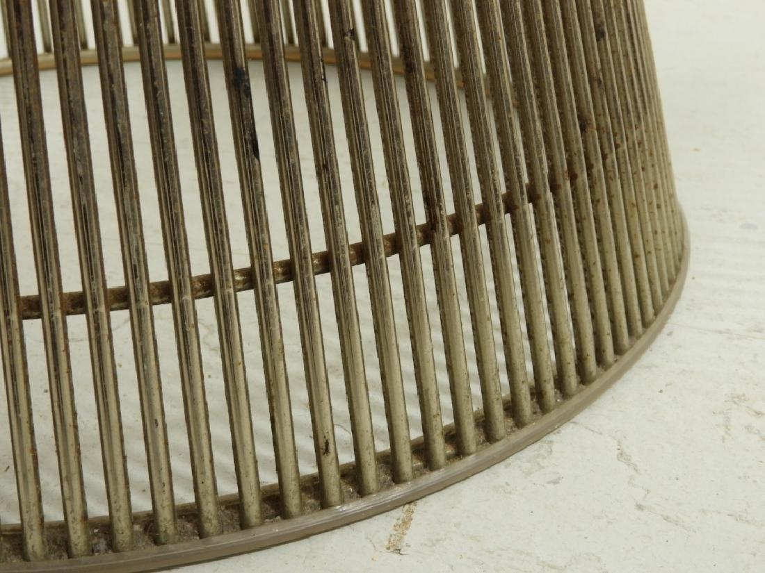 Warren Platner Steel Glass Coffee Table for Knoll - 5