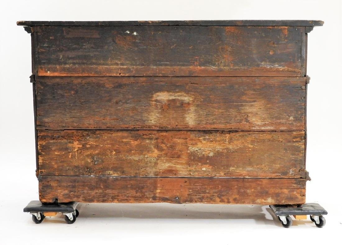 17C Italian Baroque Carved Walnut Chest of Drawers - 9