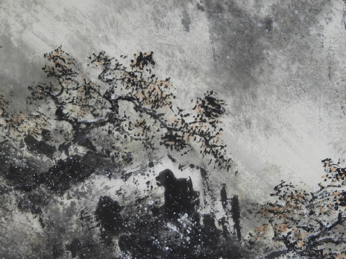 Chinese Mountain Forest Landscape Painting - 2