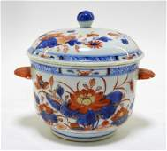 Chinese Imari Porcelain Covered Sugar Bowl