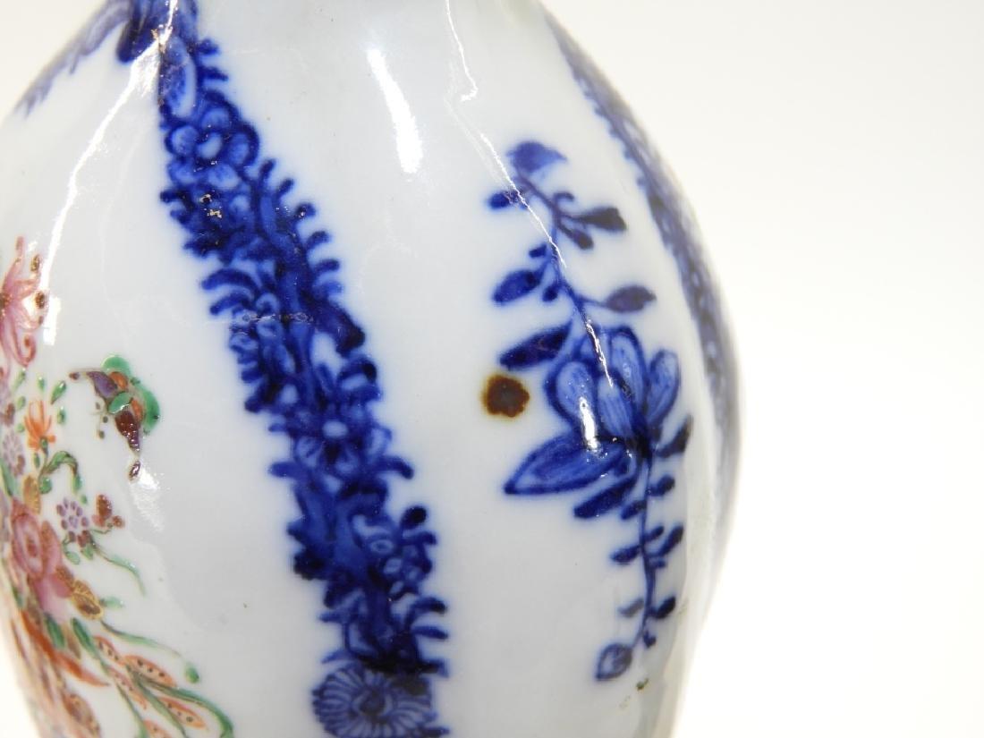 PR Chinese Export Famille Rose Porcelain Vase Urn - 10