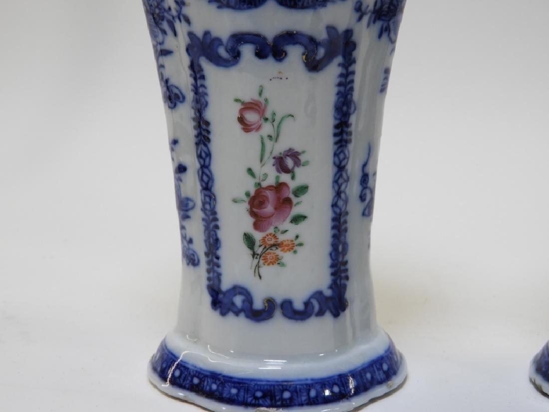 PR Chinese Export Famille Rose Porcelain Vase Urn - 6