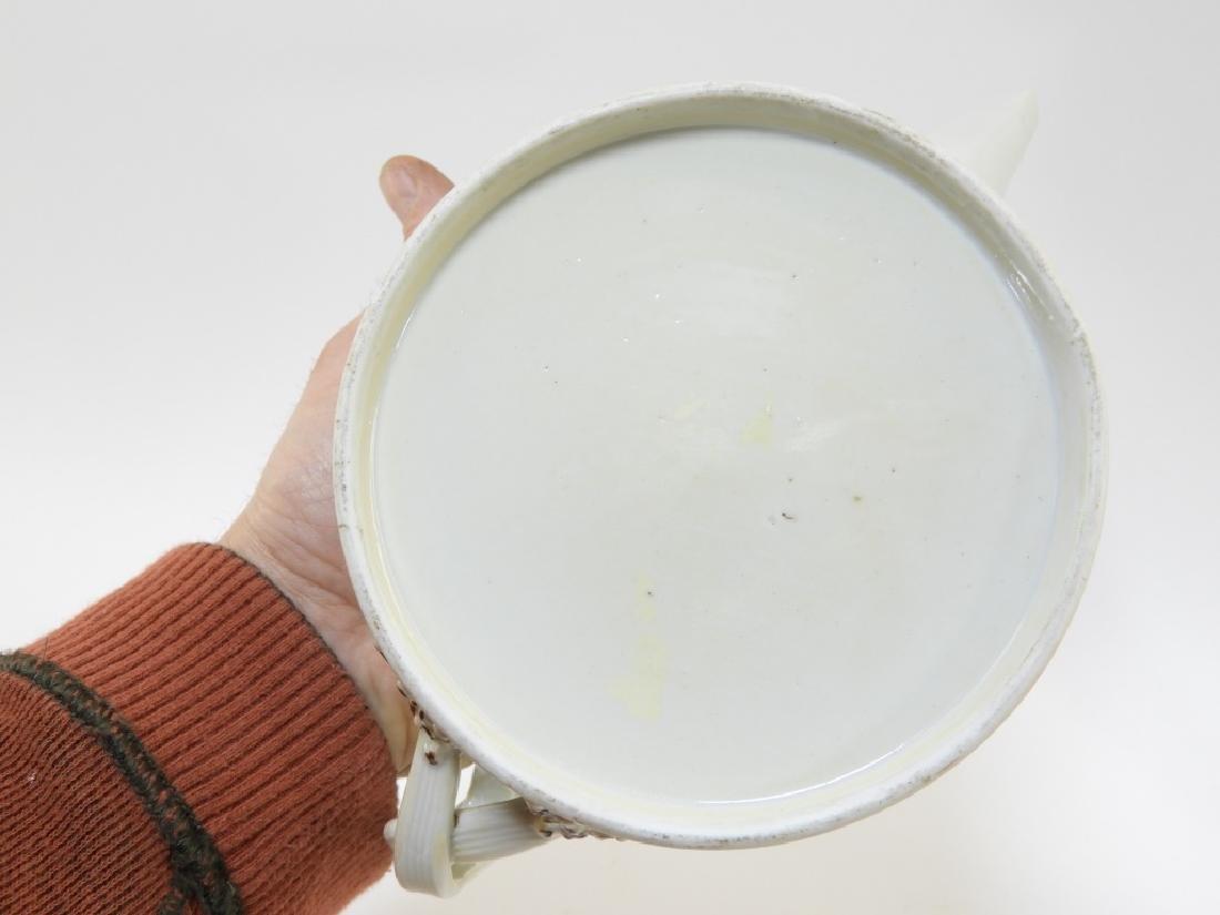 Chinese Sepia Export Porcelain Tea Leaf Teapot - 7