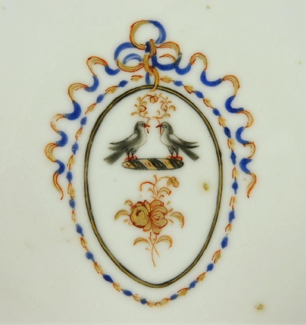 Chinese Export Porcelain Armorial Cup & Saucer - 2