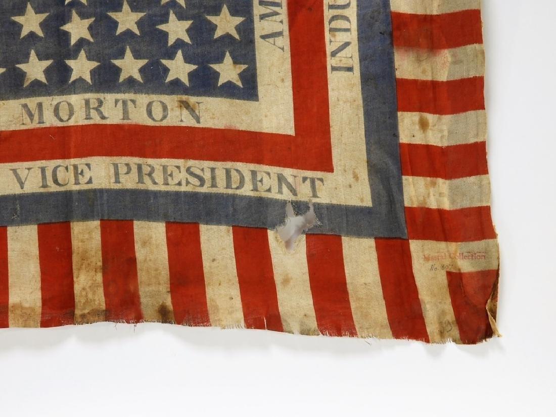Presidential Election Harrison Handkerchief Flag - 4