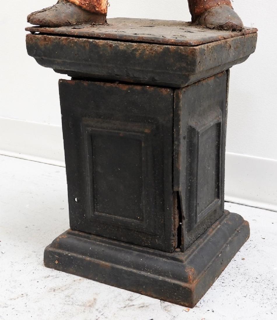 Antique American Cast Iron Lawn Jockey - 4