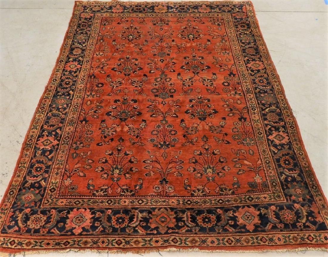 Persian Mahal Wool Carpet Rug