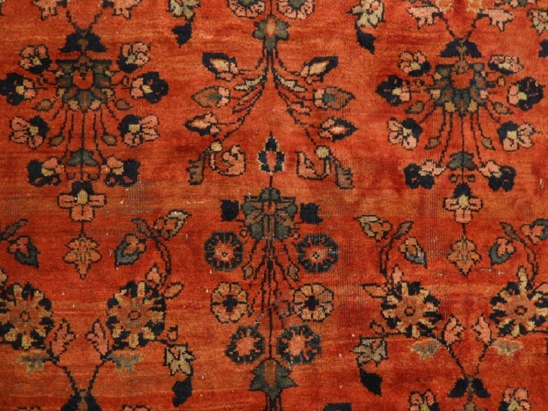Persian Mahal Wool Carpet Rug - 2