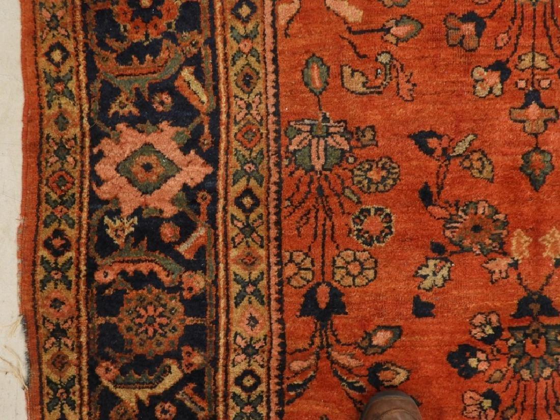 Persian Mahal Wool Carpet Rug - 3
