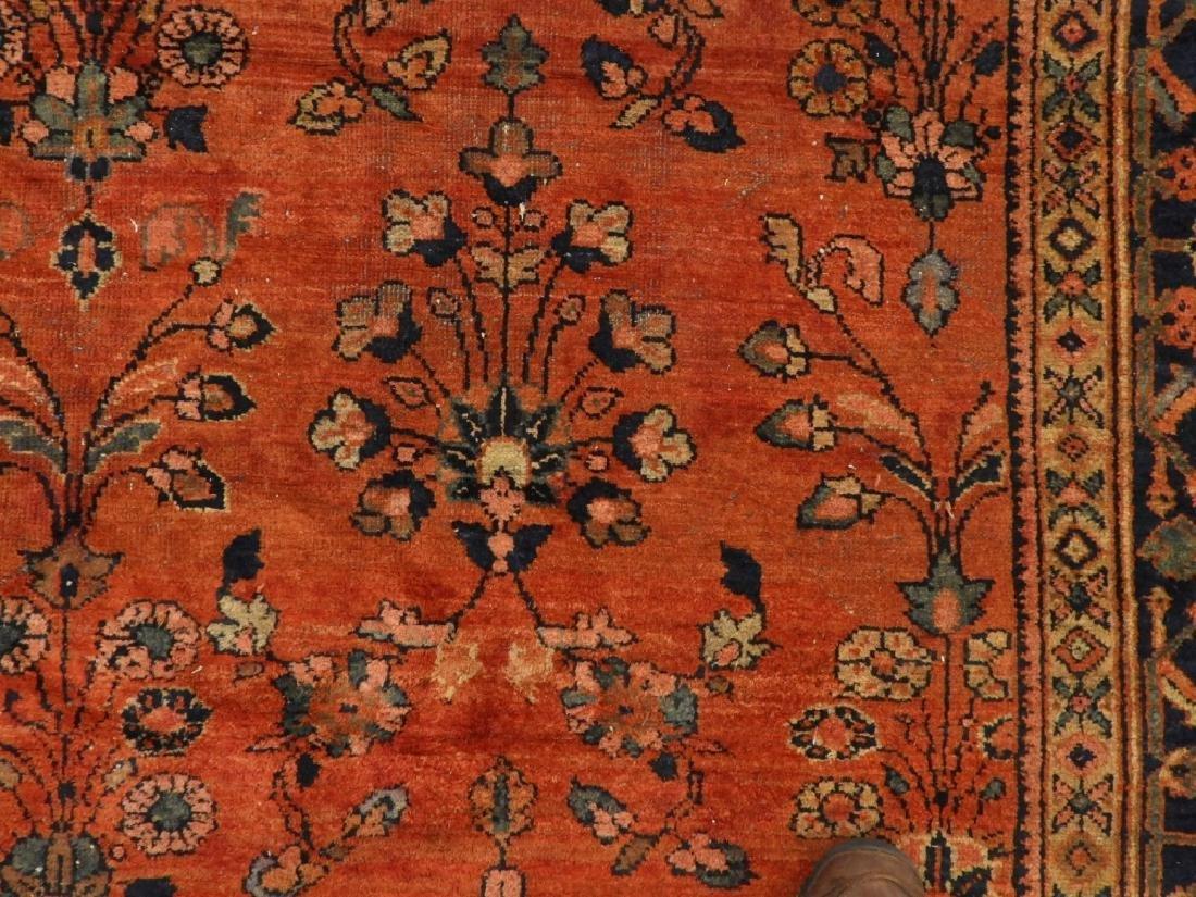 Persian Mahal Wool Carpet Rug - 4