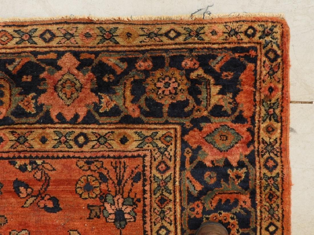 Persian Mahal Wool Carpet Rug - 5