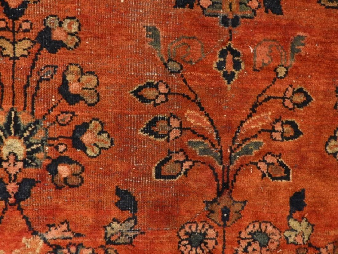 Persian Mahal Wool Carpet Rug - 6