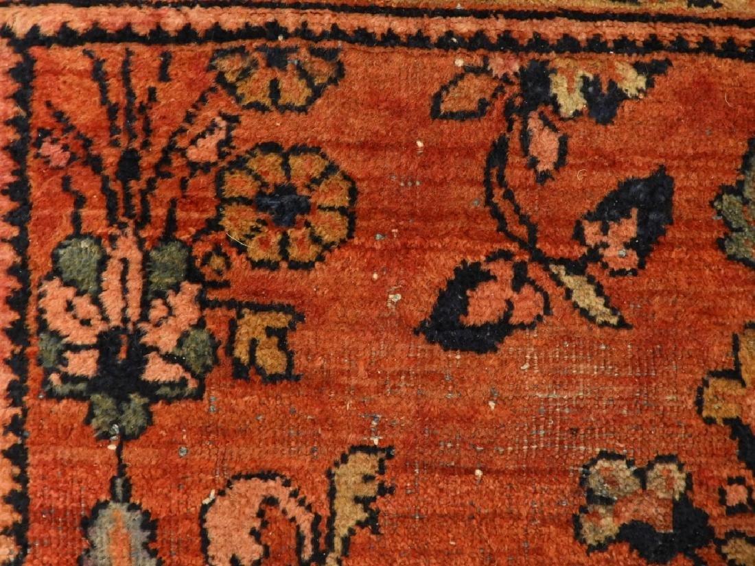 Persian Mahal Wool Carpet Rug - 7