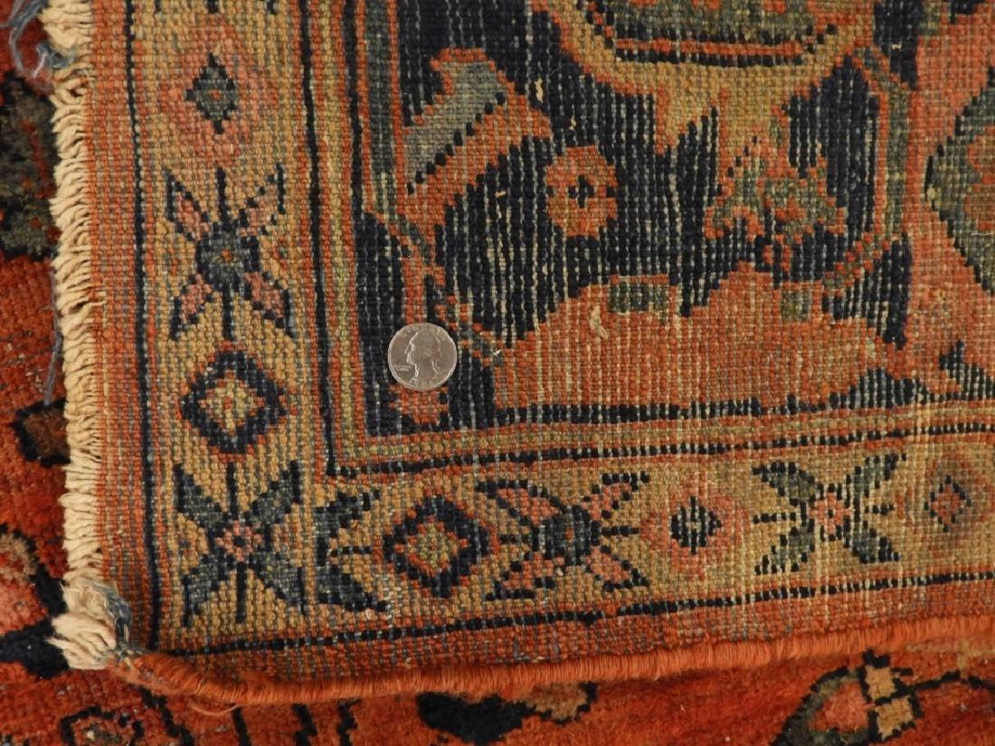 Persian Mahal Wool Carpet Rug - 8