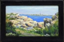 Francis Richardson Impressionist Coastal Painting