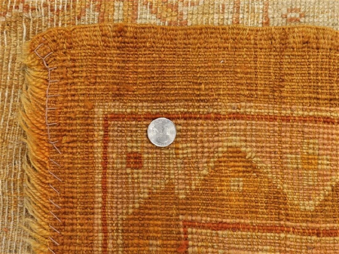 LG Antique Turkish Oushak Oriental Carpet Rug - 10
