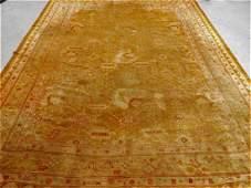 LG Antique Turkish Oushak Oriental Carpet Rug