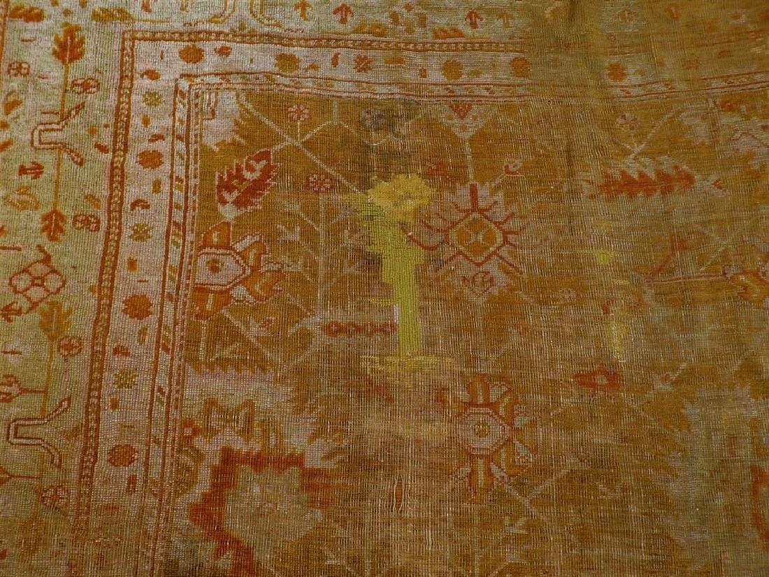 LG Antique Turkish Oushak Oriental Carpet Rug - 4