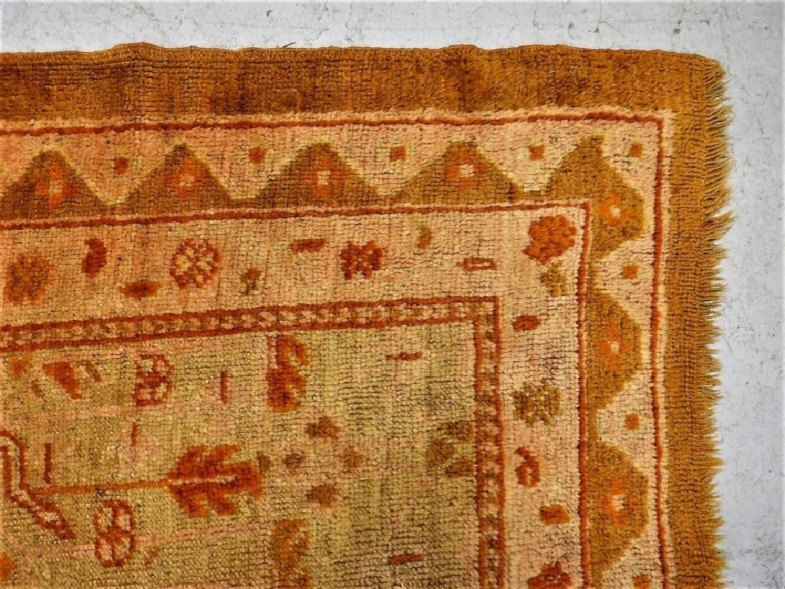LG Antique Turkish Oushak Oriental Carpet Rug - 6