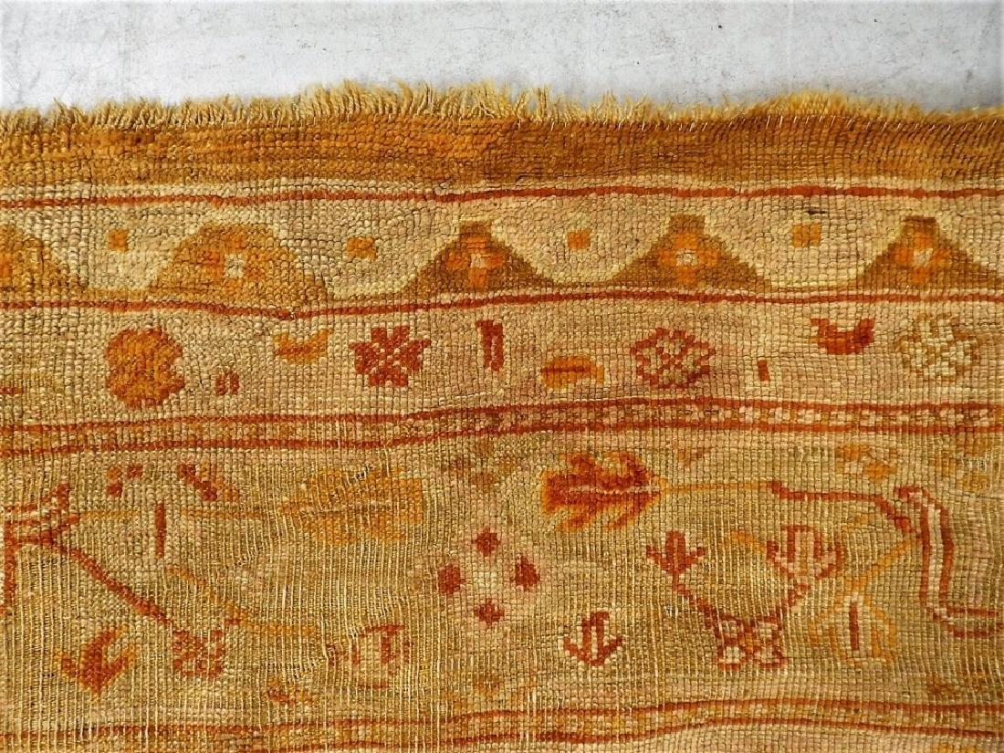LG Antique Turkish Oushak Oriental Carpet Rug - 8