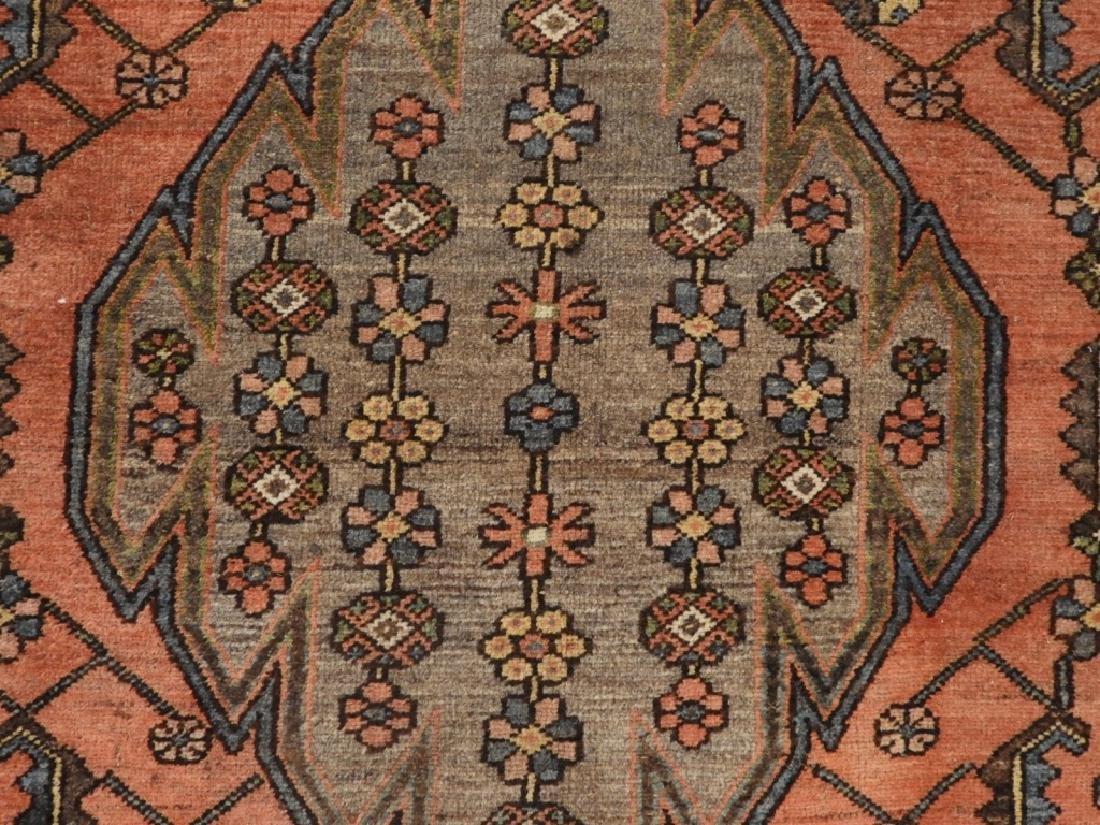 Persian Mazlagan Wool Carpet Rug - 2
