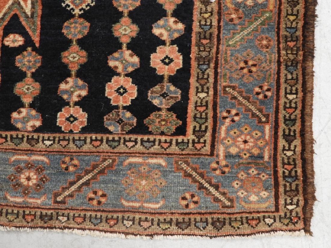 Persian Mazlagan Wool Carpet Rug - 3