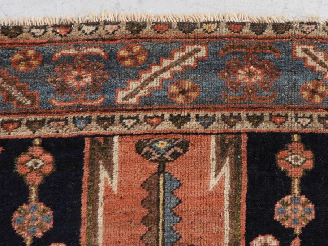 Persian Mazlagan Wool Carpet Rug - 5