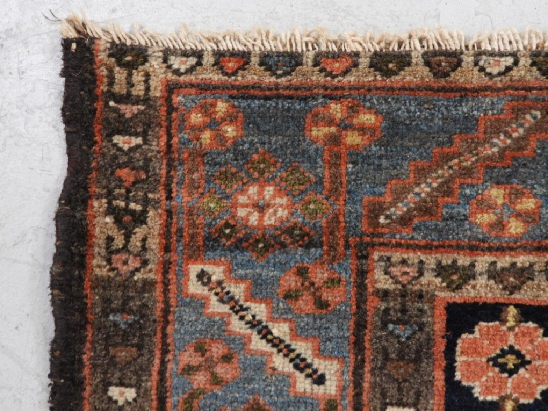 Persian Mazlagan Wool Carpet Rug - 6