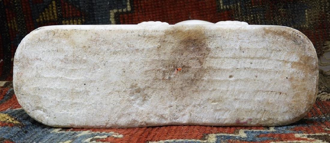 FINE South Arabian Alabaster Camel Farmer Carving - 10